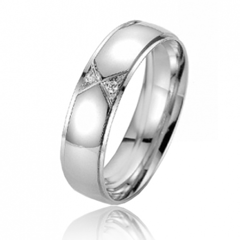 Alliance Smartline Adonia 5.5 mm Platine 950 diamant