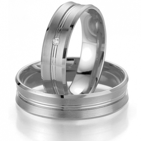 Alliance Smartline Alexandra 5.5 mm Platine 950 diamant