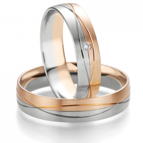 Alliance Smartline Amandine 5 mm 2 Ors diamant