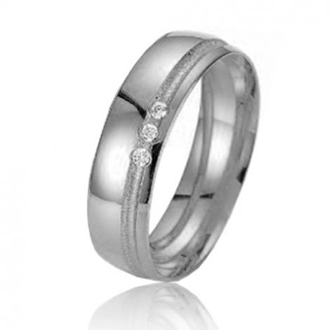 Alliance Smartline Gabriela 5.5 mm Platine 950 diamant