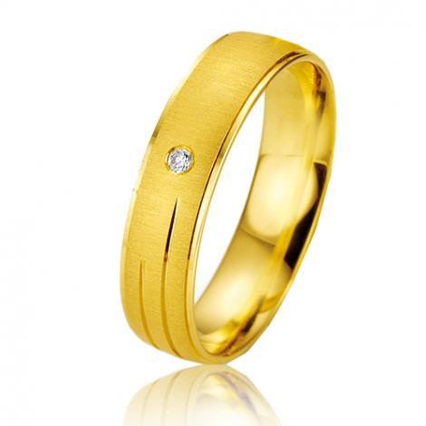 Alliance Smartline Jade 5 mm Or Jaune diamant