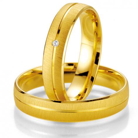 Alliance Smartline Maelle 4.5 mm Or Jaune diamant