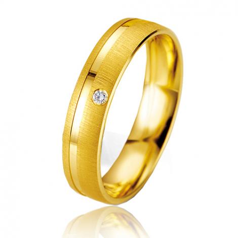 Alliance Smartline Marianna 4.5 mm Or Jaune diamant