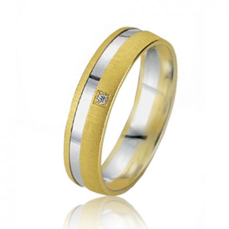 Alliance Smartline Mélodie 5 mm 2 Ors diamant