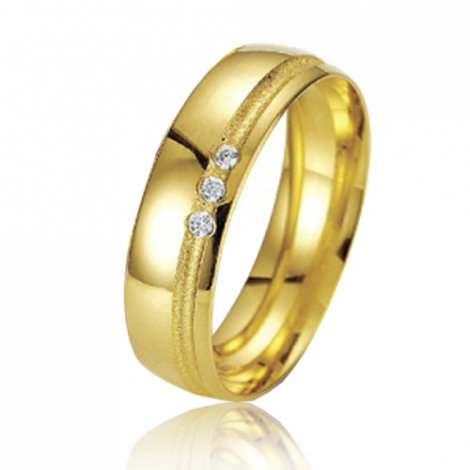 Alliance Smartline Roxanne 5.5 mm Or Jaune diamant