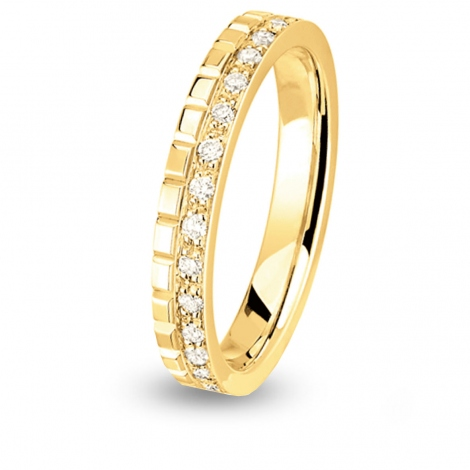 Alliance Together Nikki Forever tour complet Or Jaune - 0.3 ct - Anaève