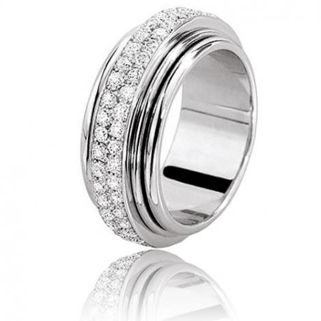 alliance mariage ponce en or blanc 70090120g. Black Bedroom Furniture Sets. Home Design Ideas