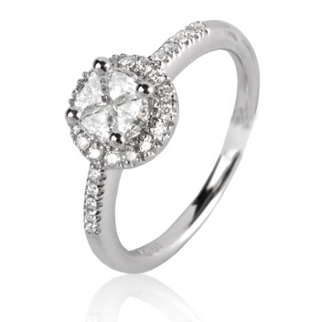 Bague avec un diamant 0.59 ct Marjorie - 49548/A