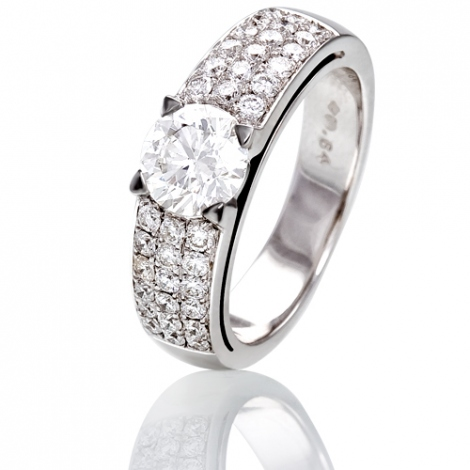 Bague de fiancaille Muse 0.50 ct - 45412