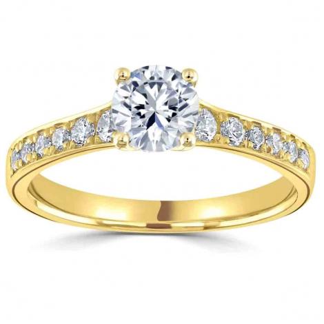 Bague de fiançailles Camilla 0.25 ct - R1-2319