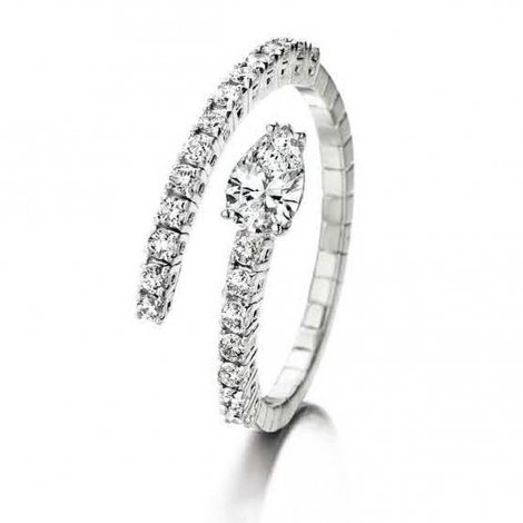Bague diamant 0.73 ct Tania - 056194-A