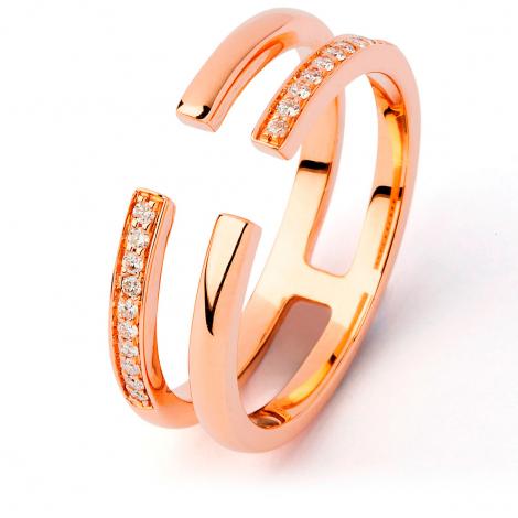 Bague diamant Sweet Paris 0.11 ct Hannah- R9932