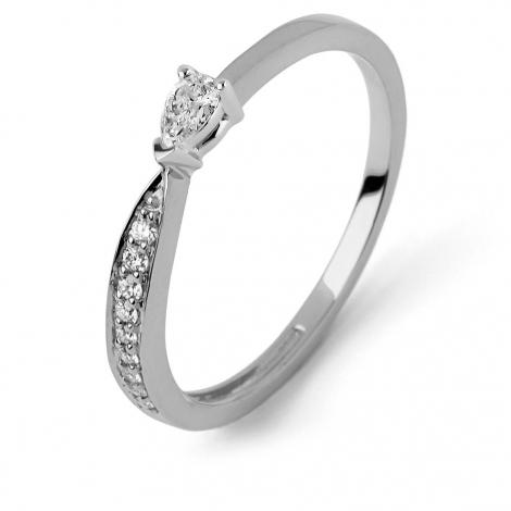 Bague diamant Sweet Paris 0.19 ct Alexia- R9013