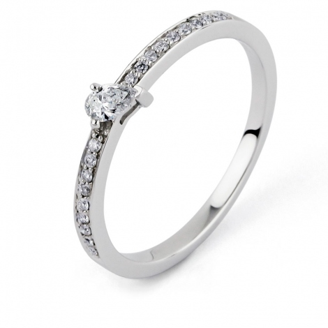 Bague diamant Sweet Paris 0.21 ct Artémis- R8662