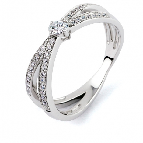Bague diamant Sweet Paris 0.3 ct Estelle- R8666