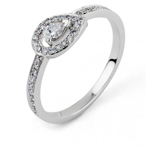 Bague diamant Sweet Paris 0.3 ct Jade- R8668