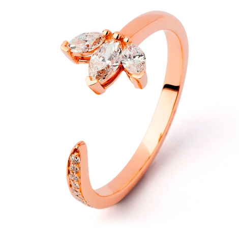 Bague diamant Sweet Paris 0.4 ct Sabrina-  R9935