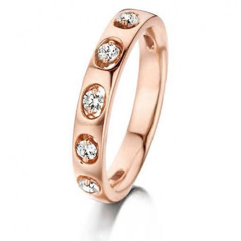 Bague diamants 0.24 ct Korail - 056249-A