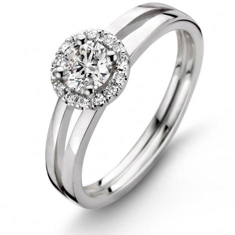 Bague Diamants 0.30 ct  - 9A5842A
