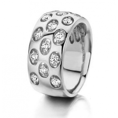 Bague Diamants 0.48 ct Célia - 056176-A