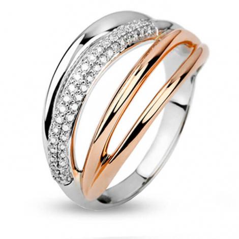 Bague diamants 0.52 ct  - R7360FMPKAY14