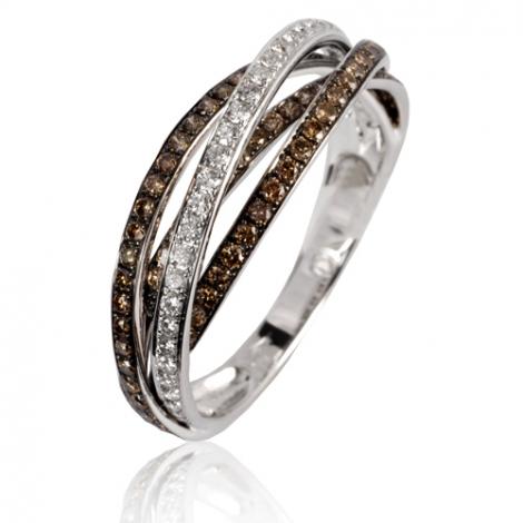 Bague diamants 0.64 ct Forever - 50276/A3