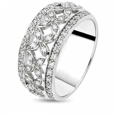 Bague diamants 0.8 ct  - 427113
