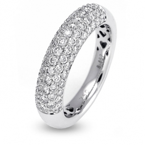 bague diamants 1 ct  - R3273FMPWA014
