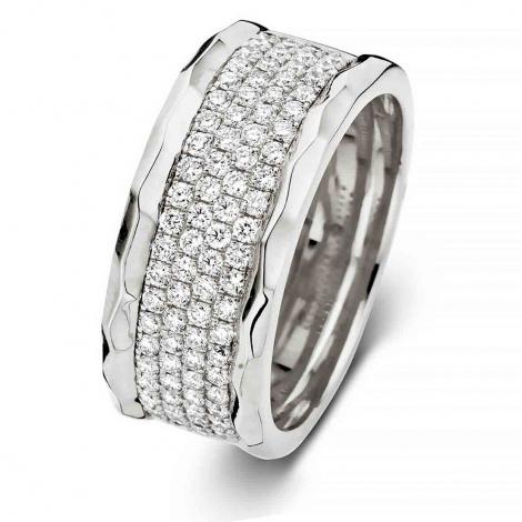 Bague diamants Ischia 0.74 ct  - Ischia 060177A