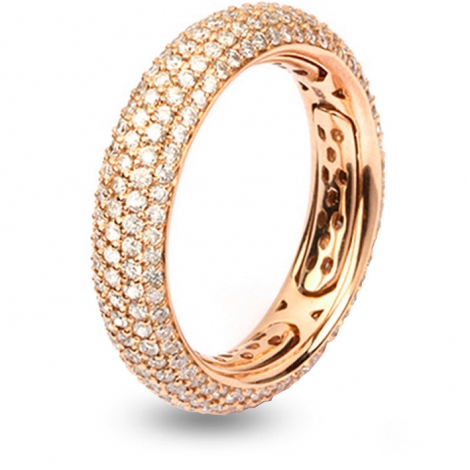 Bague diamants Multisize 1.7 ct Tadaki - M0067-rose