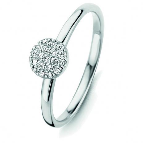Bague diamants One More 0.12 ct  - Eolo 91Z606A