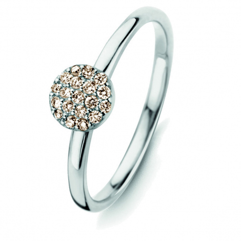 Bague diamants One More 0.12 ct  - Eolo 91Z706A3