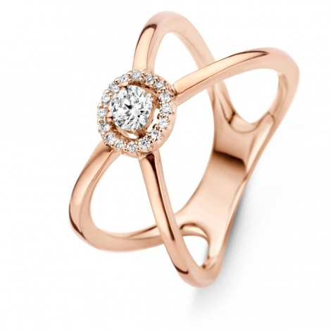 Bague Diamants One More 0.18 ct  - Salina 057542