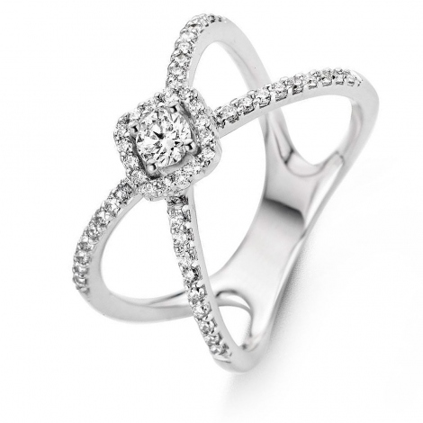 Bague diamants One More 0.18 ct  - Salina 057543