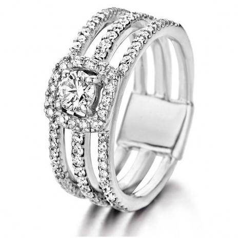 Bague Diamants One More  0.27 ct Alicia - Salina 053608