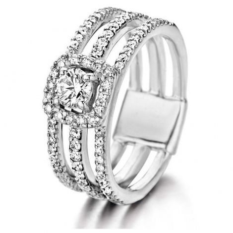 Bague Diamants One More  0.27 ct  - Salina 053086A