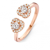 Bague diamants One More 0.34 ct  - Salina 55763-A