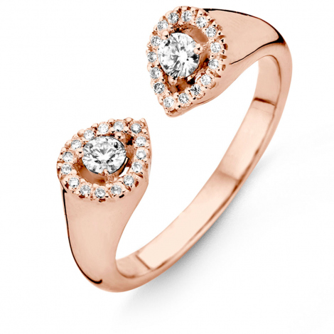 Bague diamants One More  0.53 ct  - Salina 059409A
