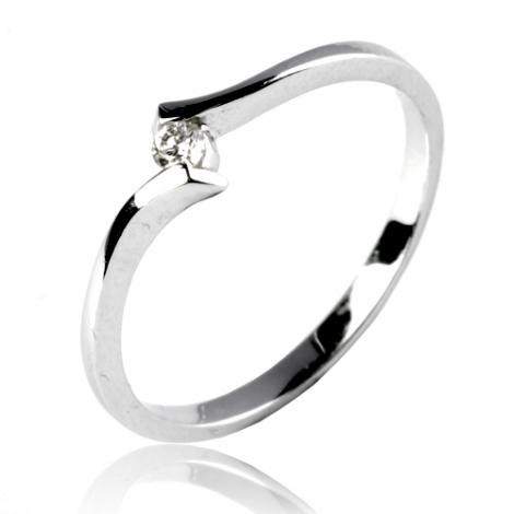 Bague en diamant 0.05 ct Constance - 11830 BT 0.05