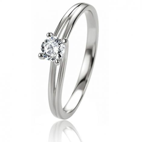 -Diamant > Bague de fiançailles > Bague Solitaire > Bague mariage ...