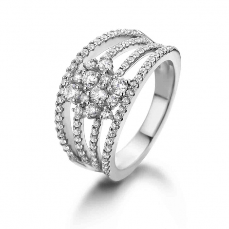 Bague Naiomy Silver - Femme - Paola - N9S01