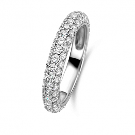 Bague Naiomy Silver - Femme - Taaiva - N9M05