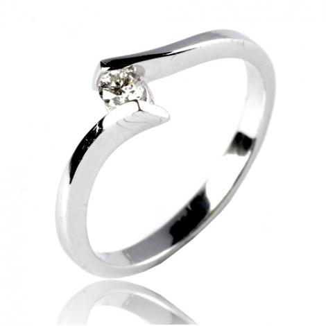 Bague or diamant 0.11 ct Dorothée - 11830 BT 0.11