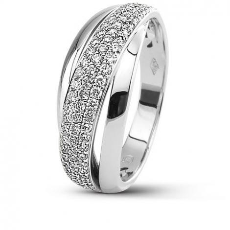 Bague or diamant femme 0.54 ct Cienna - 51490/A