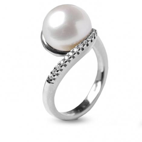 Relique: Perle Blanche Ar-bague-perle-blanche-10-5-mm-sayuri-16057