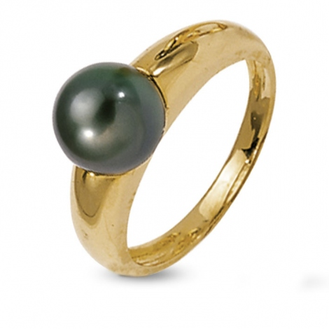 Bague perle de Tahiti 8.5 mm Emere-BA9733