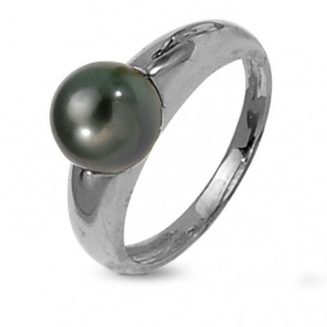 Bague perle de Tahiti 8.5 mm Tufouma-BA9733BL