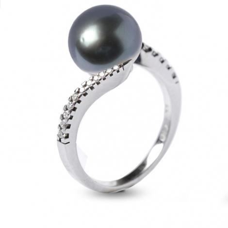 Bague perle de Tahiti 9.5-10 mm Mihiarii-520723