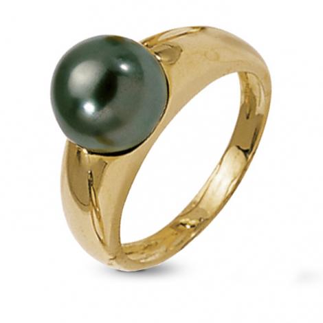 Bague perle de Tahiti 9 mm Aeata-BA9732