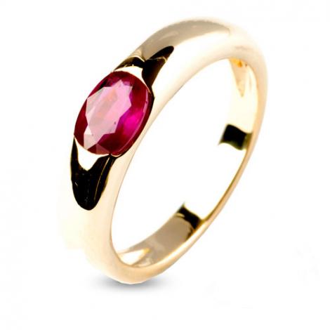 Bague rubis 1 carat   - Daphnée - 9806-RU
